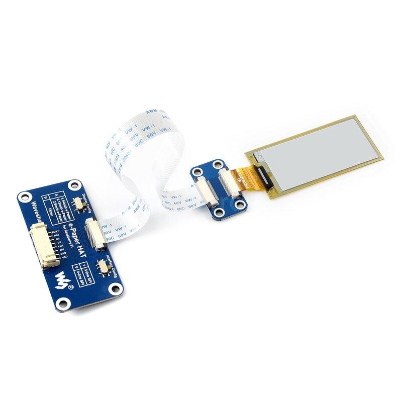 7.5inch e-Paper HAT 640×384 Three Color E-Ink Display Module for Raspberry Pi