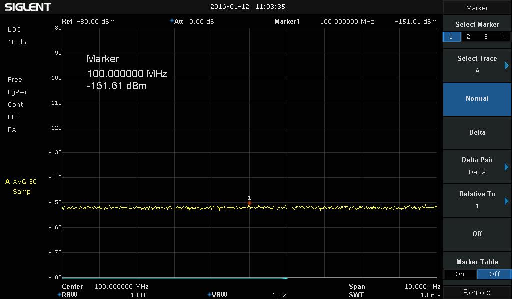 Siglent SSA3021X Spectrum Analyzer