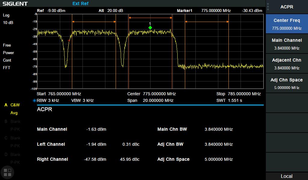 Siglent SVA1015X Spectrum and Vector Network Analyzer